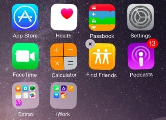 Unused Apps iOS