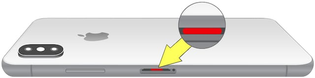 iPhone X LCI Liquid Contact Indicator Water Damage
