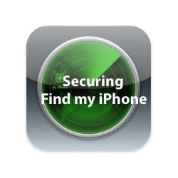 Securing Find my iPhone