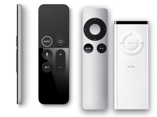 remotes for Apple TV different models