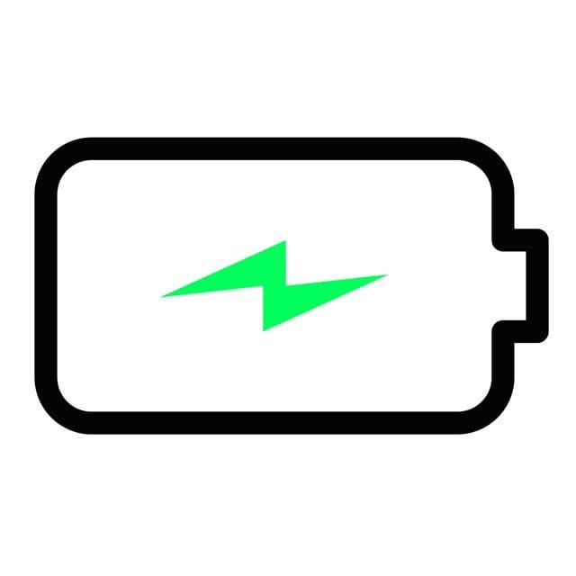 charging battery symbol
