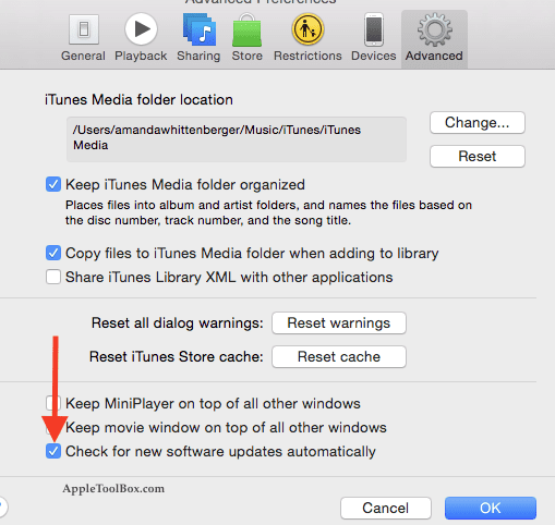 How to Fix 'Requires a newer version of iTunes' Error