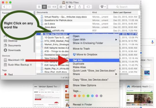 How to Set Default App for files on Mac