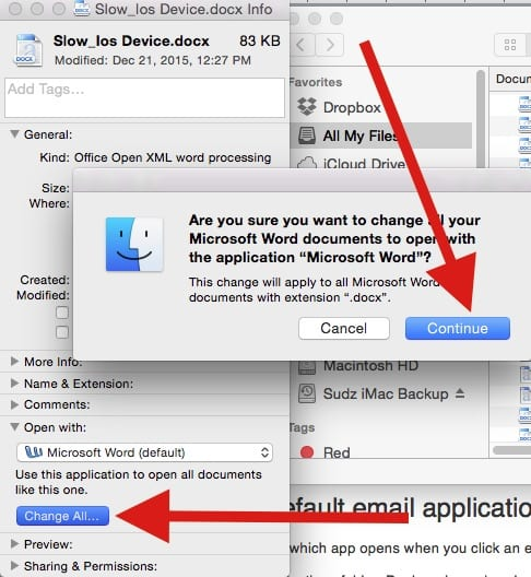 How to Set Default App for files on a Mac