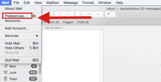 Setting Default Email Reader on Mac