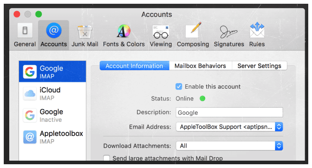 Mail App Keeps Crashing With El Capitan, How-To - AppleToolBox