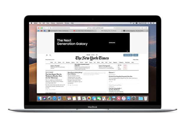 no images showing on Mac's Safari Browser