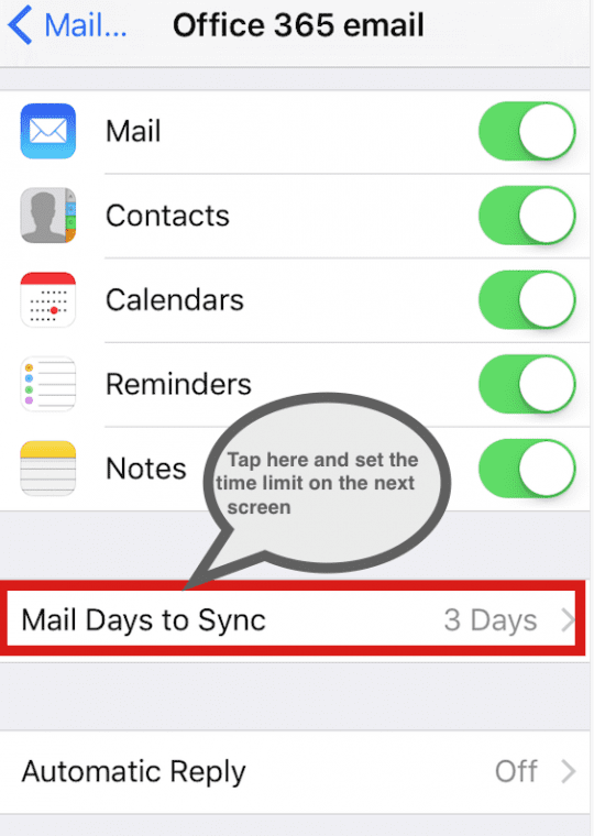 Mail Problems after iOS 9.3.1