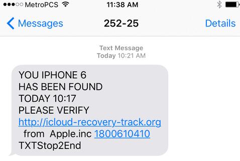 Stolen iPhones