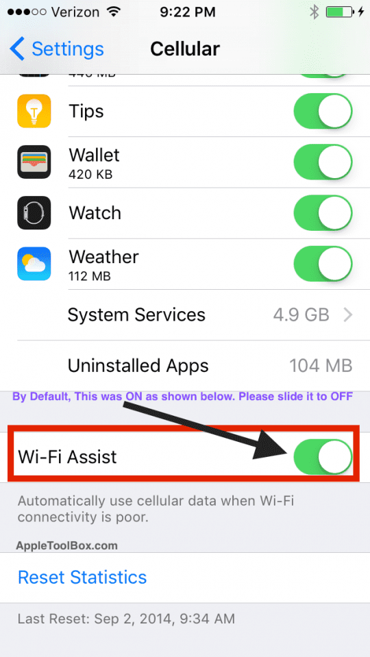 Wi_Fi_Assist_iOS 9.3.1