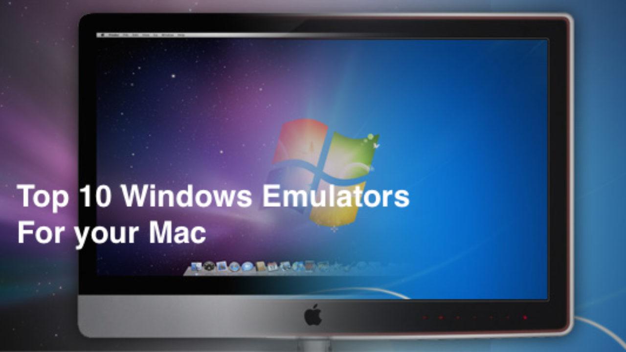 Windows emulation program for mac os