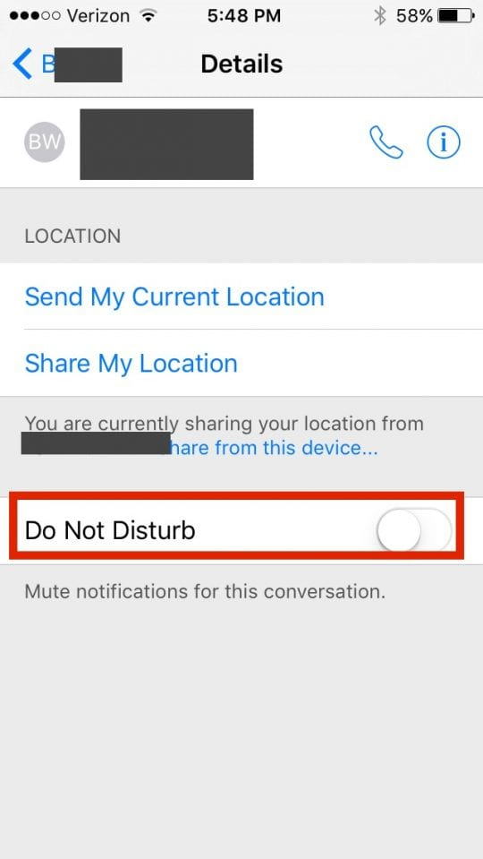 How to Use Do Not Disturb Feature on iPhone