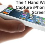The One Handed Way to Capture iPhone/iPad Screenshots