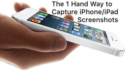 Screen Capture iPad iPhone Screenshots Easy