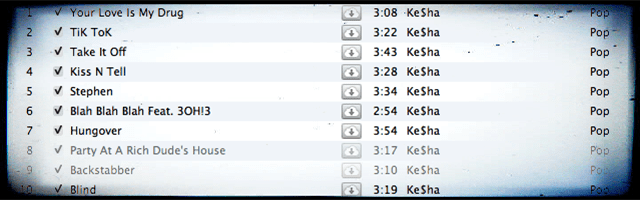 iTunes Songs Greyed Out, How-To