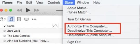 iTunes Songs Grayed out, how-To