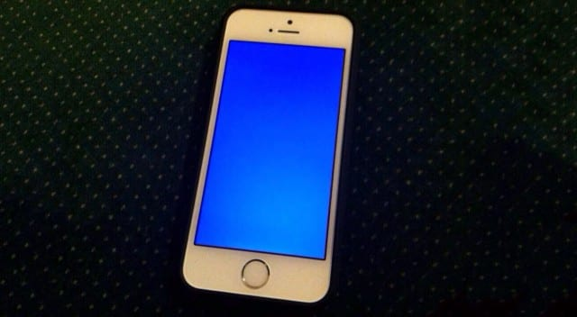 iphone 5 black screen of death how to fix blue screen of in ios 9 for iphone and 1407