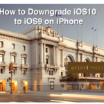 How to Downgrade From iOS 10 to iOS 9