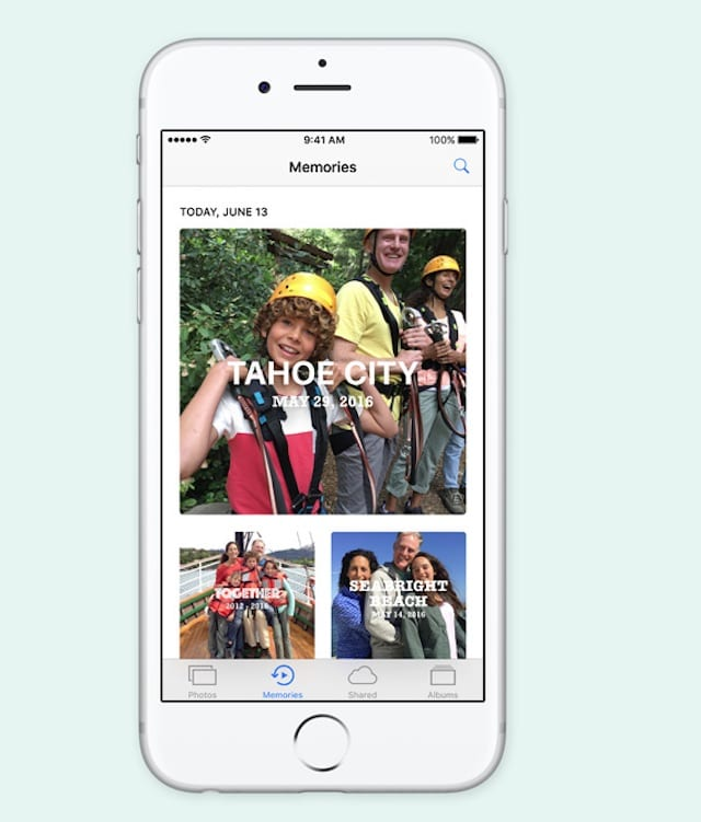 iOS 10 Memories and Facebook