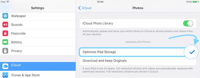 Backup iPhone Photos Using iCloud Photo Library