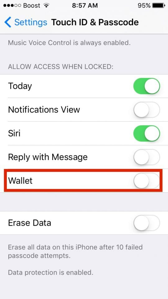 Wallet Pass doesn't appear on lock screen,how-to