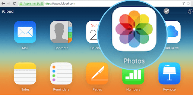 Backup iPhone Photos Using iCloud Photo Library