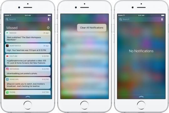iOS-10-Lock-screen-Notification-Center-clear-all-3D-Touch-iPhone-screenshot-001