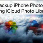 how to select all photos in icloud and download