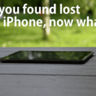 So you found a lost iPhone, Now what?