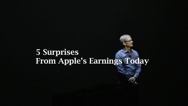 Apple Earnings Third Quarter