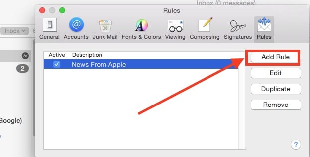 How To Auto archive your Mail on macbook