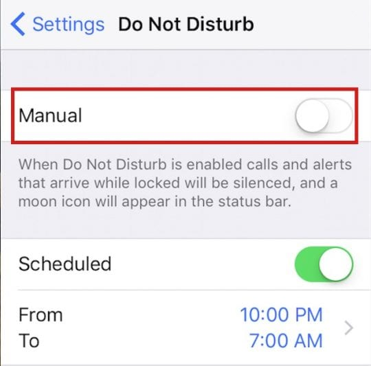 Do Not Disturb and LED Flash iPhone