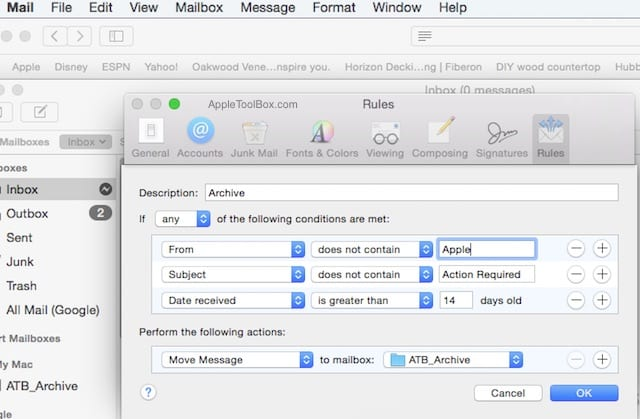 how to set up outlook mail on macbook