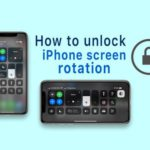 How to get your iPhone screen to rotate again