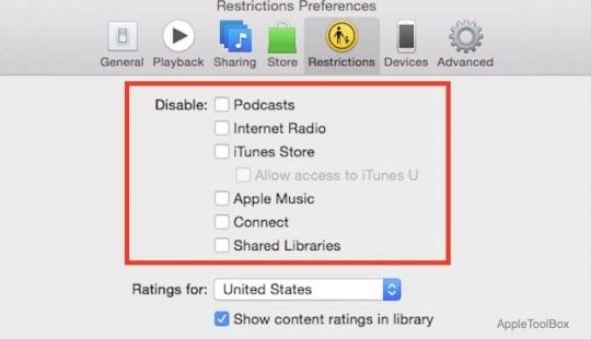 Clutter Free iTunes