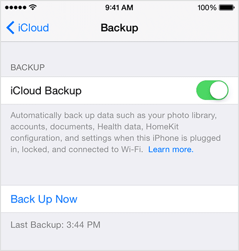 Complete Guide to iCloud backup Storage