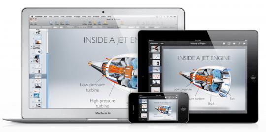 iCloud iWork Features