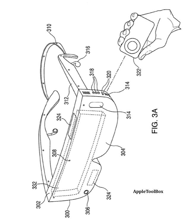 Apple Headset Patent