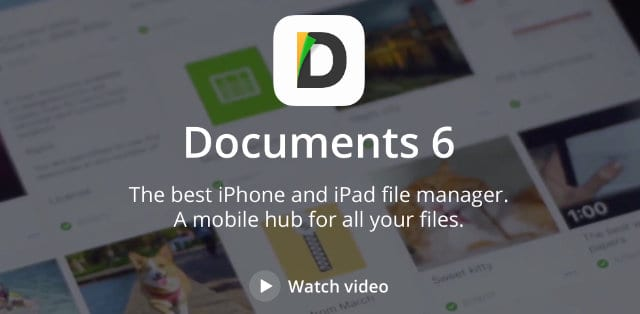 Documents 6 by Readdle banner
