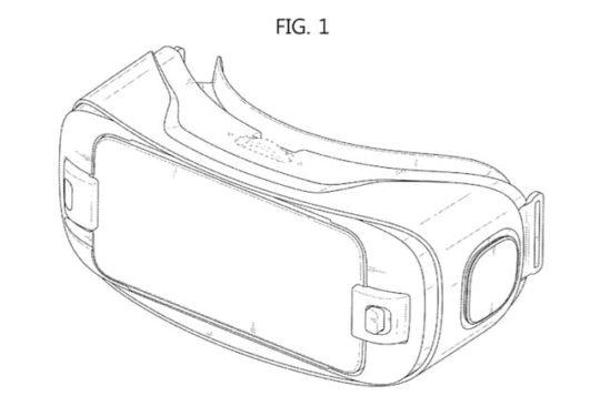 Samsung GearVR Patent