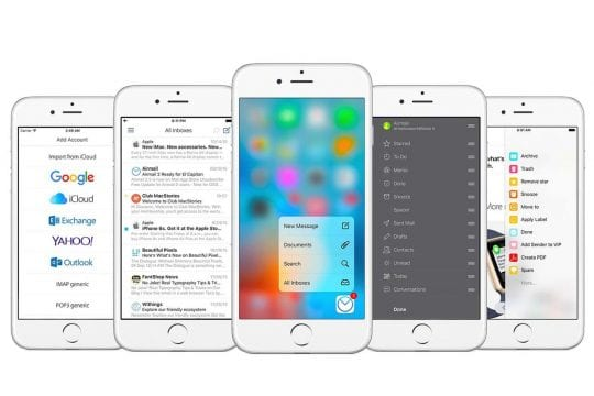 iOS 10 - Best Third party e-mail Apps
