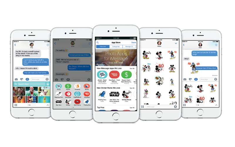 iOS 10 Messages Functionality