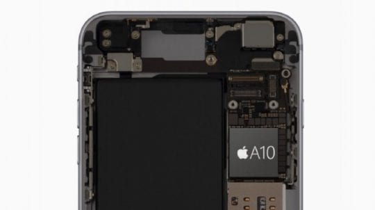 iPhone A10 Chip