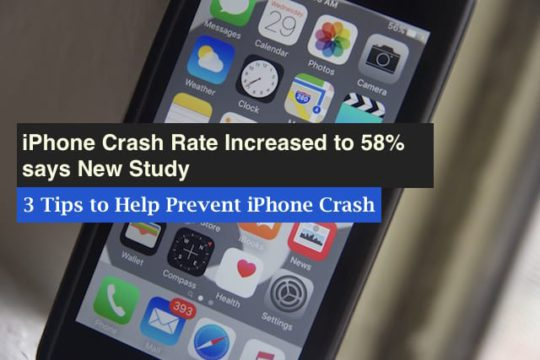Tips to prevent iPhone Crashing