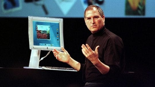 Apple Inc CEO Steve Jobs gestures during a demonstration of a preview version of Apple's new Mac OS X operating system, during Apple's Worldwide Developers Conference 2000 in San Jose, California in this May 15, 2000 file photo. Jobs, counted among the greatest American CEOs of his generation, died on October 5, 2011 at the age of 56, after a years-long and highly public battle with cancer and other health issues. REUTERS/Lou Dematteis/Files (UNITED STATES - Tags: OBITUARY BUSINESS SCIENCE TECHNOLOGY PROFILE)