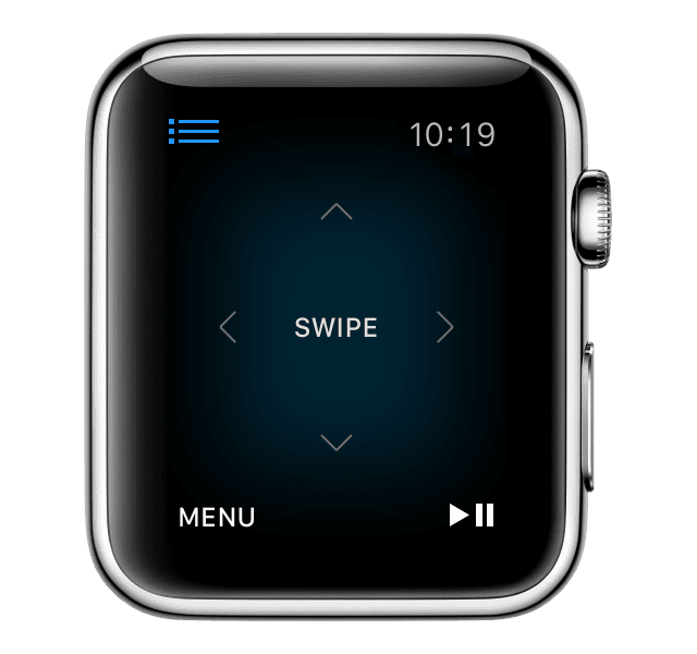 Your Watch is Your TV Remote with Apple Remote App