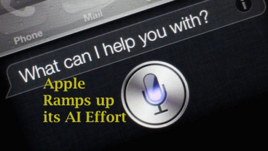Apple and Artificial Intelligence
