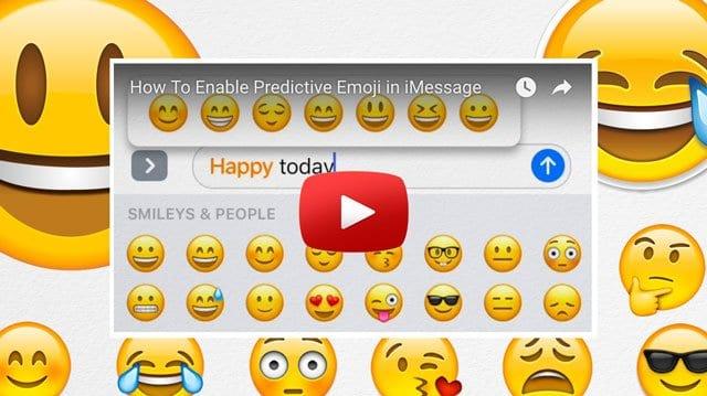 iPhone Predictive Text, Emoji Not Working, How-To Fix