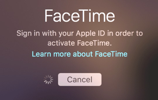 how to get facetime working iphone