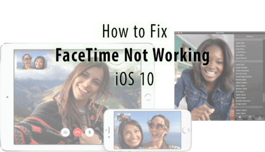 how to fix facetime problems on ipad